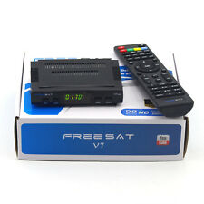 Freesat V7 HD 1080P FTA Set DVB-S2 Digital Mini TV Box Receiver Support Wifi