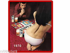 Colt 45 Beer Bottoms Up 1970's   Refrigerator / Tool Box Magnet Ad