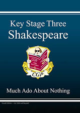 KS3 English Shakespeare Text Guide - Much Ado About Nothing,ACCEPTABLE Book