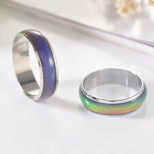 1PC Amazing Change Color Temperature Mood Rings Emotional Feeling Band Size9