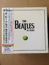 THE BEATLES IN MONO 2009 1st PRESS JAPAN CD BOX SET W/  OBI TOCP-71041~53 SEALED