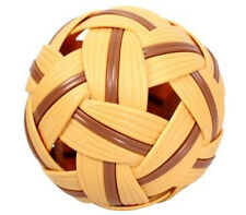 SEPAK TAKRAW Kick Volleyball Training Sport Ball Game (BROWN) | FREE SHIPPING