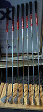 Mizuno R-Handed MP-33 Irons Set 3-9 -FCM Rifle 6.0 Shafts -NDecade Grips -V-Good