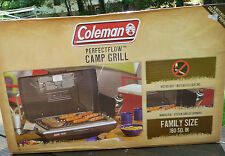BRAND NEW! Coleman PerfectFlow Propane Camp Grill with WindBlock System