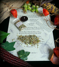 SAMHAIN INCENSE BLESSING RITUAL Wiccan Pagan Halloween
