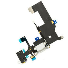 iPhone 5 5G Data SYNC Charging Block Port Dock Assembly Flex Cable Mic White UK