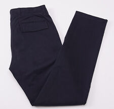 NWT $245 VINCE Navy Blue Military-Detailed Cotton Cargo Pants 30 W Chinos