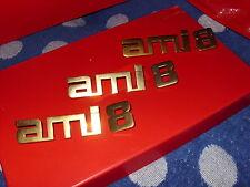 """2cv..CITROEN """"AMI 8""""..EMBLEM..original sehr RAR  !"""