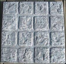 Cobblestone Square concrete cement stepping stone mold.