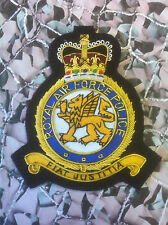 RAF Police Regiment Blazer Badge Bullion (SN)