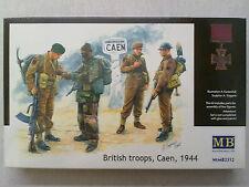 MasterBox 3512 British Troops, Caen 1944 1:35 Neu & eingetütet mit Lagerspuren