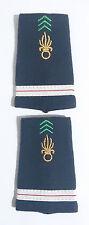 Paire des Fourreaux d'épaules Grades Galons pour ADJUDANT Légion Étrangère