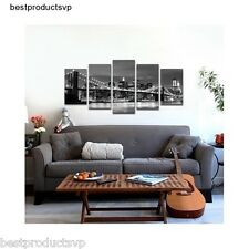 5 Piece Wall Art Canvas Painting Decor Modern Large Panels Framed Giclee Hanging