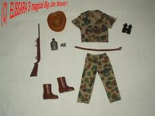 BIG JIM Outfit 8861 : TIERFÄNGER / SAFARI ! ANIMAL CATCHER - GAMEKEEPER - Mattel