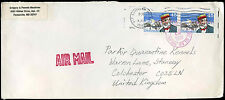 USA 1988 Commercial Airmail Cover To England #C31422
