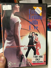From Beijing With Love ex-rental region 4 DVD (RARE Hong Kong comedy movie)