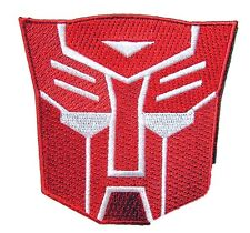 Transformers Rotes Mech Logo - Uniform Kostüm Patch  -  Aufnäher  neu