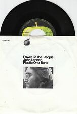 JOHN LENNON / PLASTIC ONO BAND Power To The People 45