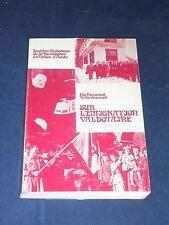 Vallée d'Aoste Italie Etude sur l'émigration valdotaine Elio Riccarand 1975