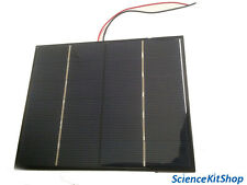 """Large Solar Panel (Solar Cell) 6 Volts, 3.3 Watts 6.5"""" x 5.25"""""""