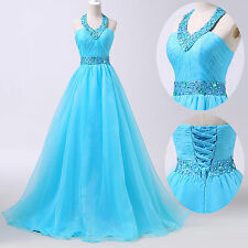 PLUS SIZE CHIC Long Prom Dress Masquerade Ball Gowns Party Evening Wedding Dress