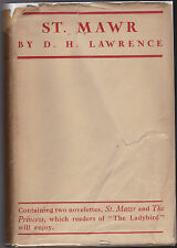 D H Lawrence - St Mawr Together With The Princess - 1st/1st 1925 in RARE Jacket
