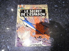 belle reedition blake et mortimer le secret de l'espadon tome 2
