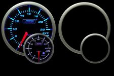 PROSPORT Exhaust Gas Temperature Gauge 52mm w/Peak Recall &Warning Blue & White