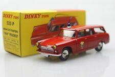 525 P Dinky toys 1:43 404 Peugeot Pause DE Pomplers Alliage de voiture modèles