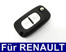 2T Ersatz Klappschlüssel Fernbedienung Gehäuse für Renault Clio Modus Twingo