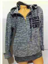 "Victoria's Secret  ""PINK""  FULL ZIP BLING VELOUR HOODIE   M/M"