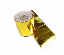 "Intercooler Induction Gold Performance Heat Protection Tape 2"" x 5m Roll"