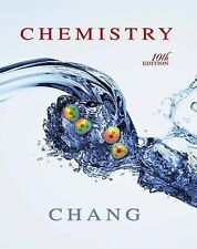 Chemistry by Raymond Chang, US Edition, Color, LIKE NEW, HARDCOVER
