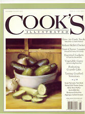 Cook's Illustrated 2007 Lasagne Barbecued Ribs Vegetable Curry Crumb Cake Muffin