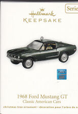 2011 Dated 1968 Ford Mustang GT Classic American Cars Series Ornament