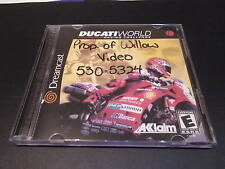 """Ducati World Racing Challenge""(Dreamcast) NO INSTRUCTIONS"