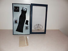 Franklin Mint Princess Diana Female Doll Ensemble Black Gown For 16 Vinyl Doll