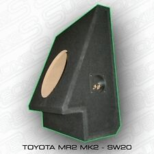 "Toyota MR2 10"" Custom Built Sub speaker enclosure woofer Behind seat mk2 SW20"