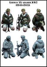 Evolución minutos Soldado Alemán WSS finales de la guerra 35125 Segunda Guerra Mundial 1:35 sin pintar KIT