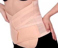Pull Lower Back Support Waist Lumbar Brace Belt Strap Pain Relief