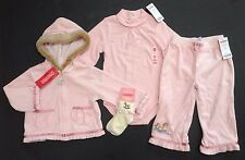 NWT Gymboree La Belle Epoque 18-24 Rocking Horse Hoodie Pants Socks & Bodysuit