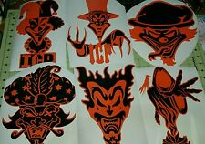 HALLOWICKED JOKERS CARDS  sticker  icp insane clown posse twiztid RARE RIDDLEBOX