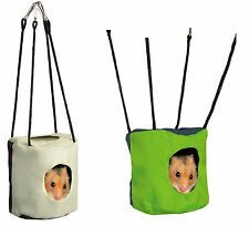 Hanging Rustling Cave Sleeping Bag for Hamsters Mice & Small Rodents