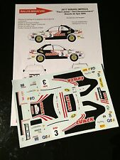 DECALS 1/24 SUBARU IMPREZA CRACK LIETAR RALLYE BOUCLE DE SPA 95 WRC RALLY TAMIYA