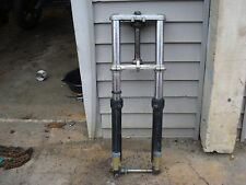 1985 1986 1987 1988 SUZUKI GSXR 750 GSX-R  Left & Right Fork Forks Triple Tree