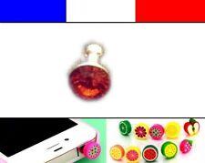 Cache anti-poussière jack universel iphone protection capuchon bouchon Diamant 6