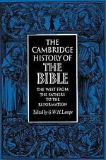 The Cambridge History of the Bible: Volume 2, The West from the Father-ExLibrary