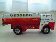 BARN FIND - VINTAGE SAN / JAPAN - SHELL GASOLINE TANKER TRUCK - TIN / FRICTION