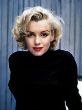 MARILYN MONROE COLOR PHOTO - Hollywood 1950's Movie Star Actress