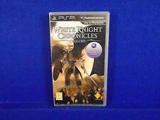 psp WHITE KNIGHT CHRONICLES ORIGINS Multiplayer RPG Game PAL UK Version